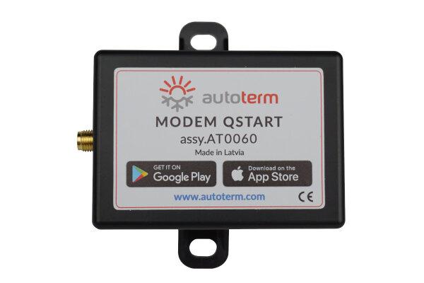 """GSM-Modem """"QStart"""" Fernsteuerung für die Standheizungen Air (Planar) 2D, 4D & 44D & Binar 5S, 12V und 24V"""
