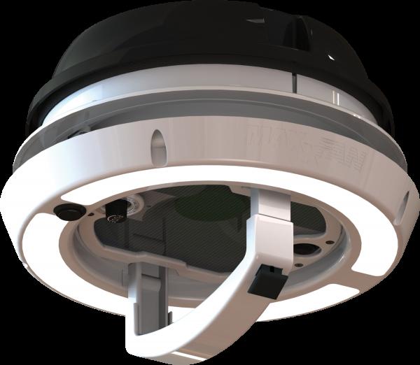 Maxxfan Dome Plus Dachlüfter Seitenwandlüfter 12 V mit LED