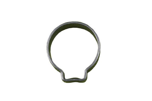 10 x Schlauchklemme, 1-Ohr-Klemme, 15/17mm