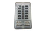Sicherungshalter für KFZ Flachsicherung mit LED...