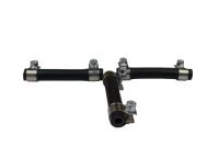 T-Stück Spritleitung- Set / Kraftstoffleitung 3x 5,3mm