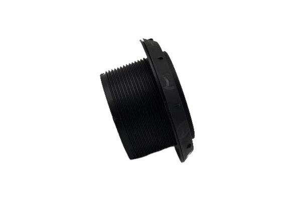 Ausströmer D60 45°, schwarz, Btl. Webasto